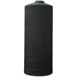 800 Gallon Black Vertical Storage Tank