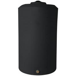 850 Gallon Black Vertical Storage Tank