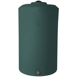 850 Gallon Green Vertical Storage Tank