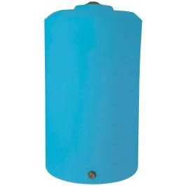 850 Gallon Light Blue Vertical Storage Tank