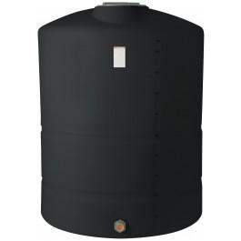 1200 Gallon Black Vertical Storage Tank