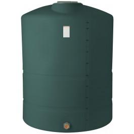 1200 Gallon Green Vertical Storage Tank