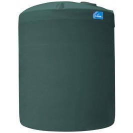 12500 Gallon Green Vertical Storage Tank