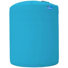 12500 Gallon Light Blue Vertical Storage Tank