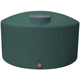 1350 Gallon Green Vertical Storage Tank