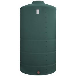 1500 Gallon Green Vertical Storage Tank
