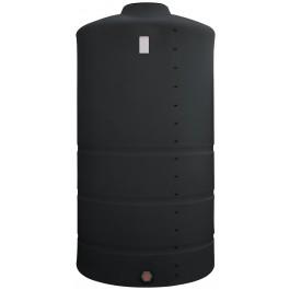 1525 Gallon Black Vertical Storage Tank