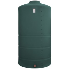 1525 Gallon Green Vertical Storage Tank