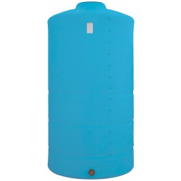 1525 Gallon Light Blue Vertical Storage Tank