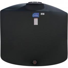 1650 Gallon Black Vertical Storage Tank