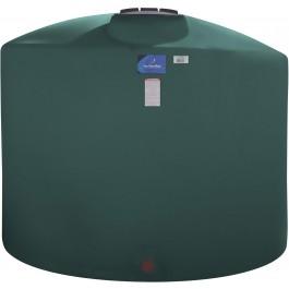 1650 Gallon Green Vertical Storage Tank