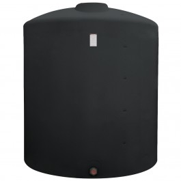 2050 Gallon Black Vertical Storage Tank