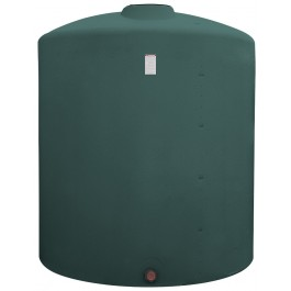2050 Gallon Green Vertical Storage Tank