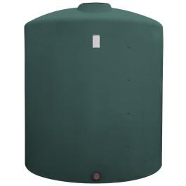 2500 Gallon Green Vertical Storage Tank
