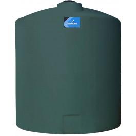 3000 Gallon Green Vertical Storage Tank