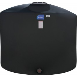 3100 Gallon Black Vertical Storage Tank