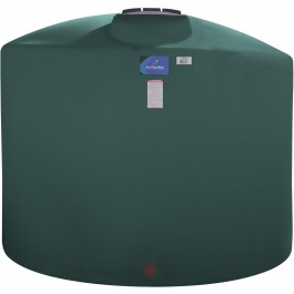 3100 Gallon Green Vertical Storage Tank
