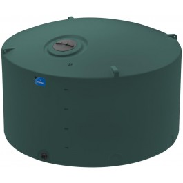 4995 Gallon Green Vertical Storage Tank