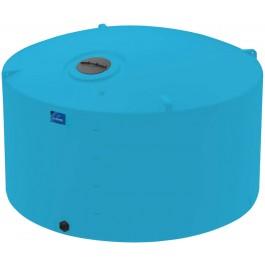 4995 Gallon Light Blue Vertical Storage Tank