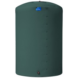 5000 Gallon Green Vertical Storage Tank