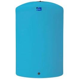 6250 Gallon Light Blue Vertical Storage Tank