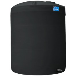 6500 Gallon Black Vertical Storage Tank