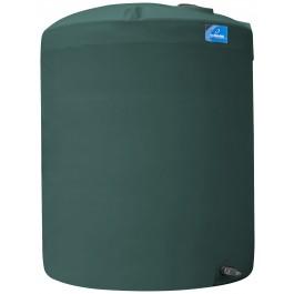 6500 Gallon Green Vertical Storage Tank
