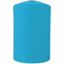 8000 Gallon Light Blue Vertical Storage Tank