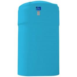 9500 Gallon Light Blue Vertical Storage Tank