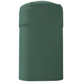 9500 Gallon Dark Green Vertical Water Storage Tank