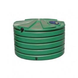 1110 Gallon Green Rainwater Collection Storage Tank