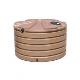1110 Gallon Mocha Rainwater Collection Storage Tank