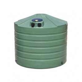 1320 Gallon Green Rainwater Collection Storage Tank