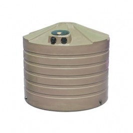 1320 Gallon Mocha Rainwater Collection Storage Tank