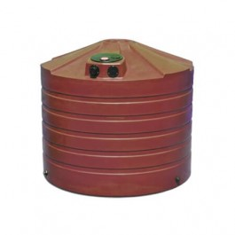 1320 Gallon Brick Red Rainwater Collection Storage Tank