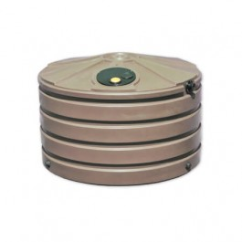 660 Gallon Mocha Rainwater Collection Storage Tank