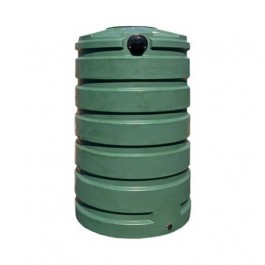 205 Gallon Green Rainwater Collection Storage Tank