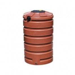 205 Gallon Brick Red Rainwater Collection Storage Tank