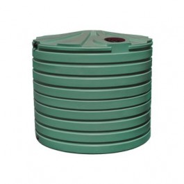 2825 Gallon Green Rainwater Collection Storage Tank