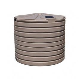 2825 Gallon Mocha Rainwater Collection Storage Tank