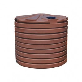 2825 Gallon Brick Red Rainwater Collection Storage Tank