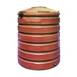 420 Gallon Brick Red Rainwater Collection Storage Tank