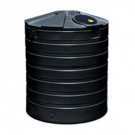 865 Gallon Black Rainwater Collection Storage Tank