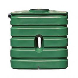 130 Gallon Green Slimline Rainwater Storage Tank