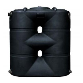 265 Gallon Black Slimline Rainwater Storage Tank