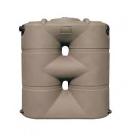 265 Gallon Mocha Slimline Rainwater Storage Tank