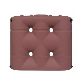 530 Gallon Brick Red Slimline Rainwater Storage Tank