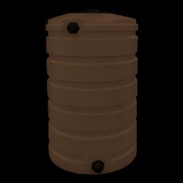 205 Gallon Dark Brown Vertical Water Storage Tank