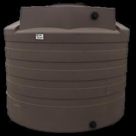 2650 Gallon Mocha Vertical Water Storage Tank