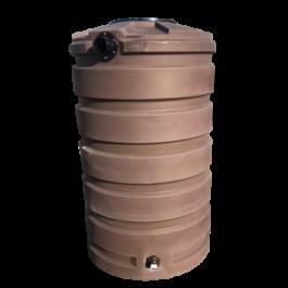 205 Gallon Dark Brown Rainwater Collection Storage Tank